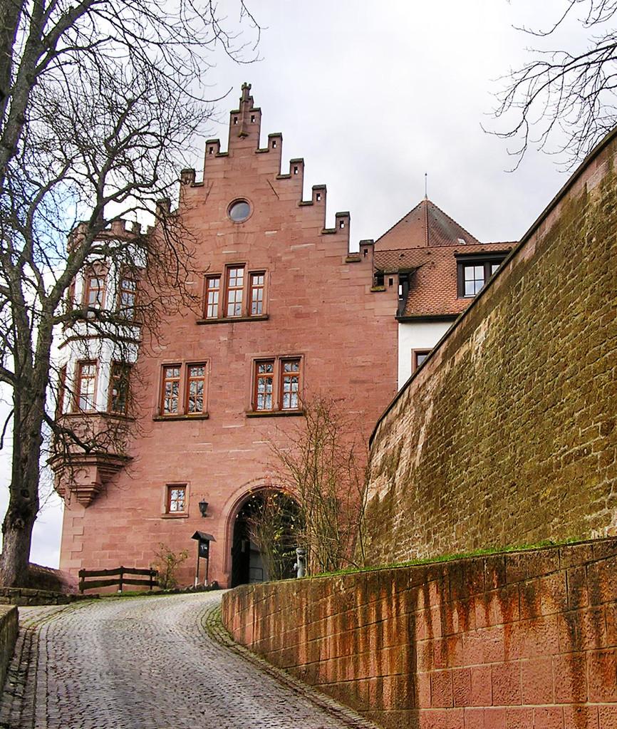 Eingang der Burg