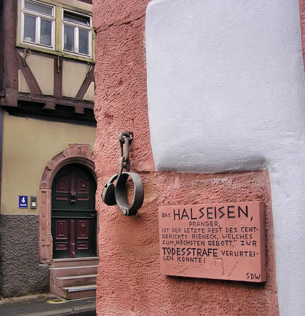 Historisches Halseisen